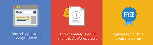 advantages of google ad grants