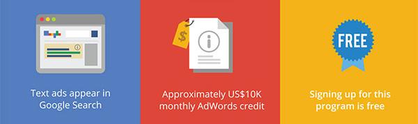 advantages of google ad grants