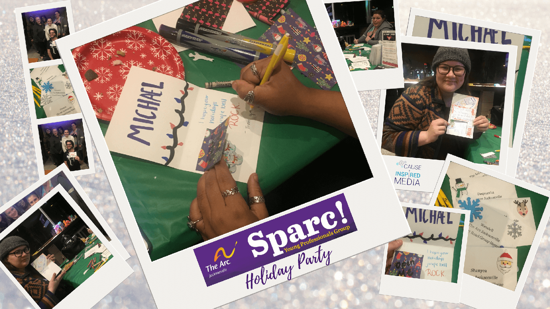 Cause Inspired Team Attends Sparc! Holiday Social
