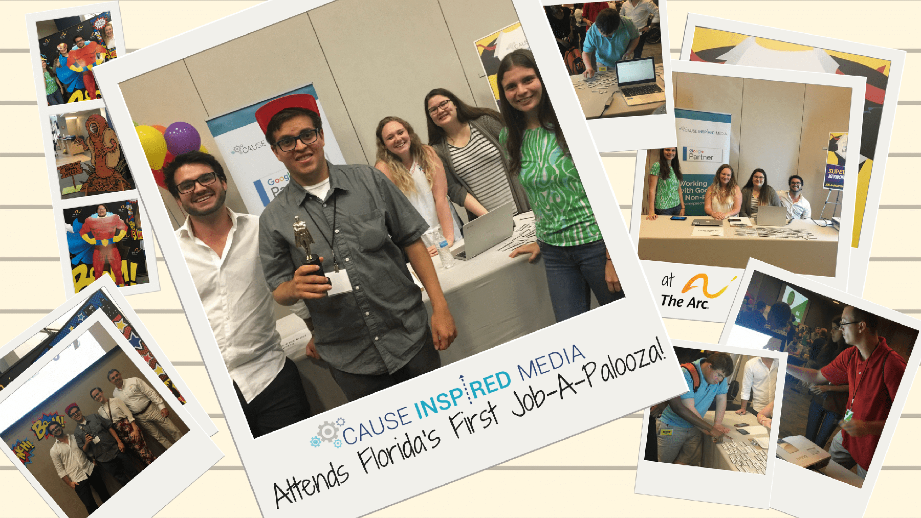 Cause Inspired Media Attends Florida's First Job-A-Palooza!
