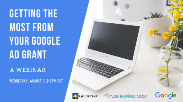 Getting The Most From Your Google Ad Grant: A Webinar