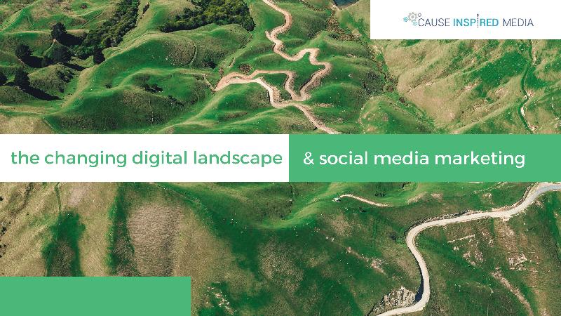 The Changing Digital Landscape & Social Media Marketing