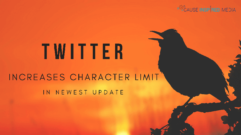 Twitter Increases Character Limit in Newest Update