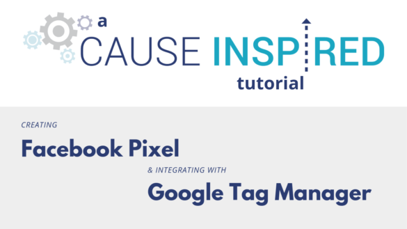 creating facebook pixel and integrating with google tag manager