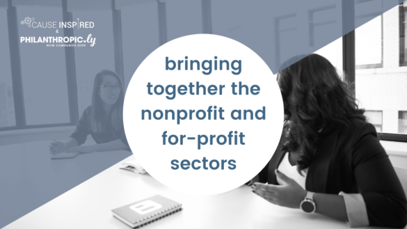 bringing together nonprofit and for-profit sectors