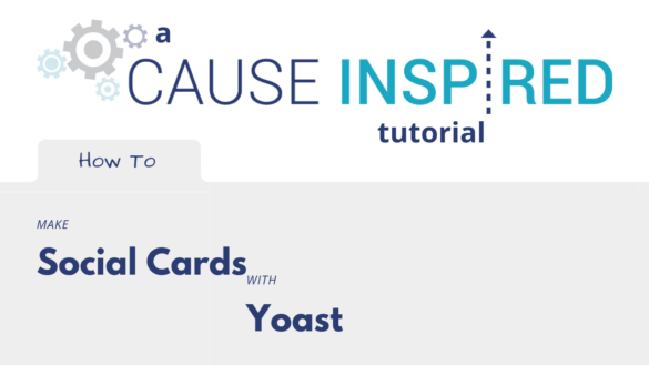 how to make social cards with yoast