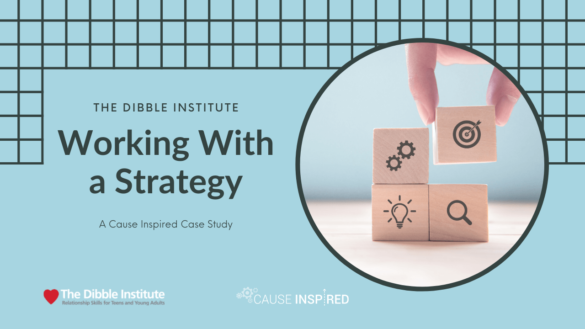 working with a strategy: a cause inspired case study with dibble institute