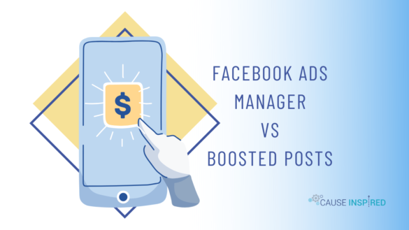 facebook ads manager vs boosted posts