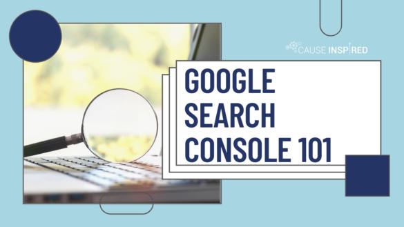 Google Search Console 101